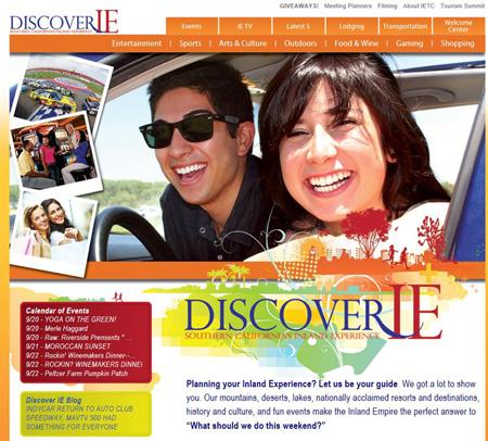 discover ie website